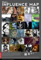 Influence Map by Antihelios