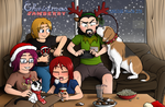 Staying in for Christmas by LycanthropAsh