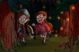 Welcome to Gravity Falls by starsdown