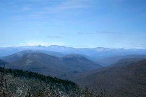 View from Plateau Mt. by Photoception
