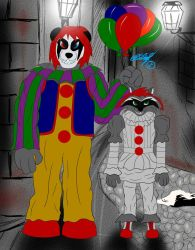 PennyWise and PennyWise  by Ligoexe03