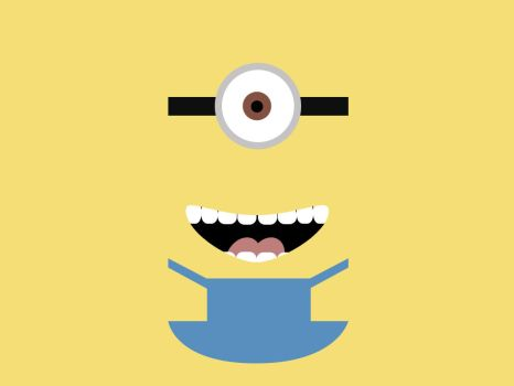 Minimal Minion  by MJ-lim