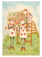 Cards Hearts by SilviaVanni