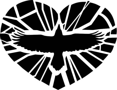 Raven heart - exploded by JFeathersmith