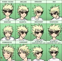 expressionMeme-Dirk by ChibiEdo