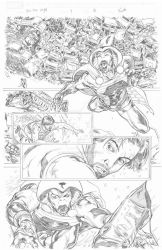 Iron man legacy #7 pg 18 by all3nmartinez