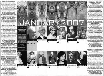 sample calendar page by james119
