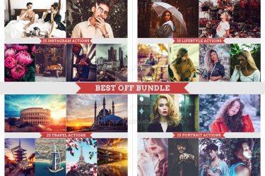 100 Actions Bundle by interesive