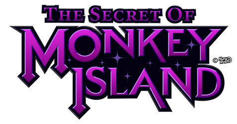 Monkey Island logo Reimagined by NuryRush