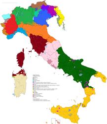 Languages in Italy by R-R-Eco