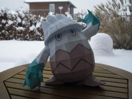 Snover papercraft