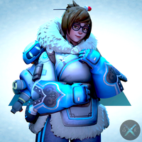 Mei Portrait by SFM-ShatteredKnives