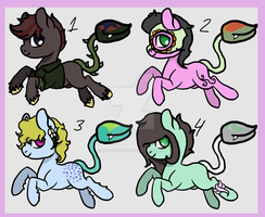 Plant Ponies (Closed) by ratjayadopts