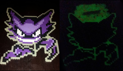 Haunter glow in the dark by Gr8Beads