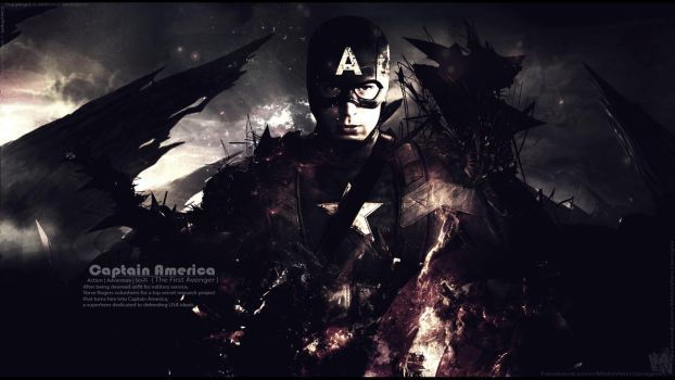 Captain America the Battle End - wallpaper V7 by Mido-Vlan