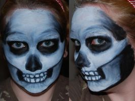 Skull Face Paint II by foxkat