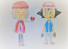 Amourshipping Valentine's Day by SuperSmash6453