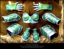 Ysera armor parts by YurikoSeira