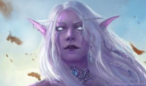 Night elf by x-Celebril-x