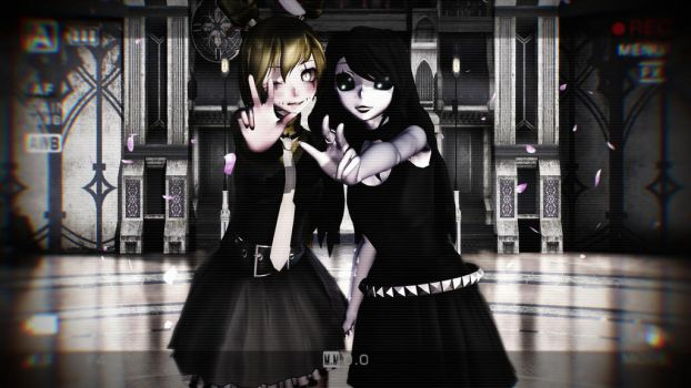 [MMD FNAF CP]Springy And Jane The Killer by CupcakeFactory266
