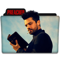 Preacher : TV Series Folder Icon v2 by DYIDDO