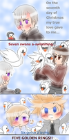 The twelve days of Christmas (part 7) by Miryam123
