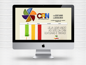 Layout site CRN Texturas by Paloma182
