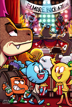 The Amazing World of Gumball fan art by jmamante02