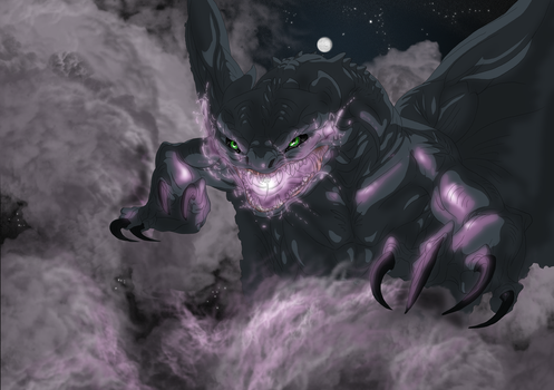 Night Fury Rage by GermanDark