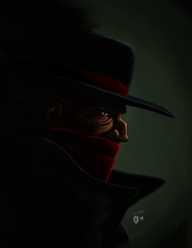 The Shadow Strikes - colours by theRealJohnnyCanuck
