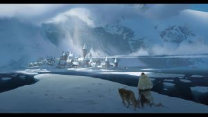Mountain Village by JamesCombridge
