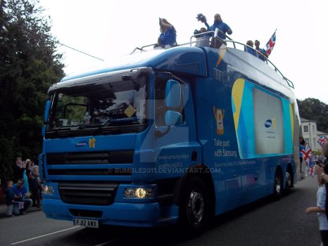 Olympic Torch Relay Higham 2012 6 by Bumble2011