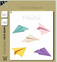 Object Pack - Paper Kites by iMouritsa