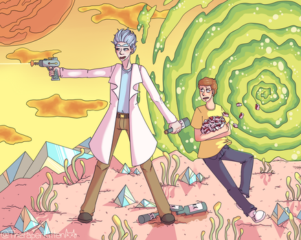 I value that sauce more than your life M-M-Morty by smolpeachsoda