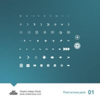 Pixel Arrows Pack 01 by sizer92