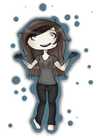 Xero Chibi Page Doll by JustVeros