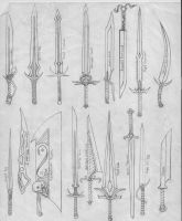 Swords by Ascher-Malachi