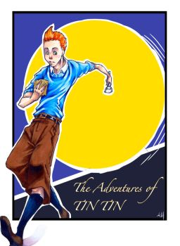The adventures of Tin Tin by drdoom0010011