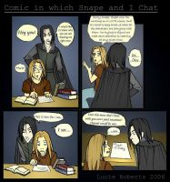 I have a chat with Snape by felegund