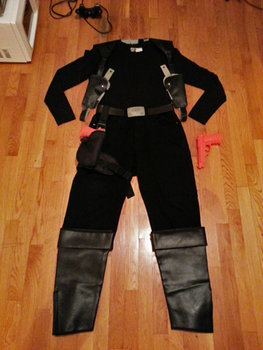 Thomas Anderson/Neo 1st Costume (Without Coat) WIP by StealthNinja5