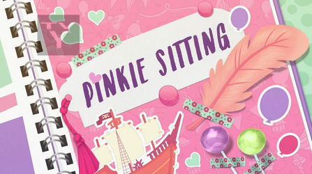 MLP Equestria Girls Pinkie Sitting part Name by Wakko2010