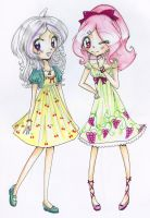 Fruity Friends by Chancetodraw