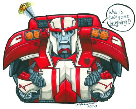 Ratchet for Ralith by SilverXenomorph