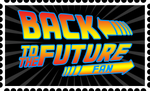 Back to the Future Fan Stamp by RetroUniverseArt