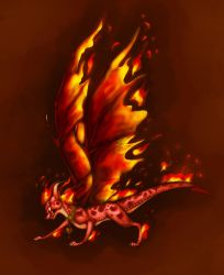 Furious Ember by ThisCrispyKat