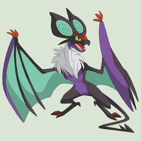 Pokemon Base 180~Noivern 1~ by Xbox-DS-Gameboy