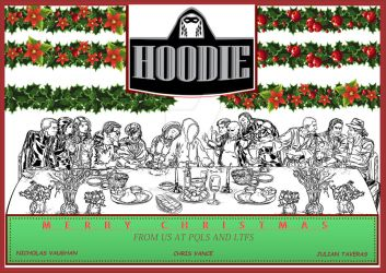 Xmas Wishes Form Hoodie The Comicbook by sonsoftheboss
