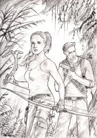 Lara Vs Nathan by emalterre