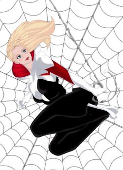 Spider-Gwen by Ed-Artwood