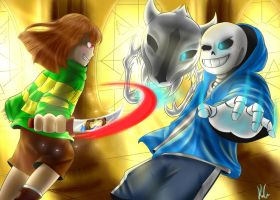 Sans' Fight {Contest Entry} by Ice6400